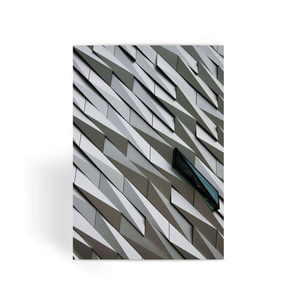 Building Wall Pattern Greeting Card 1 Prints