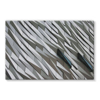 Building Wall Pattern Stretched Canvas 30X20 Wall Decor