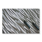Building Wall Pattern Stretched Canvas 36X24 Wall Decor