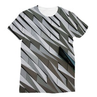 Building Wall Pattern Sublimation T-Shirt S Apparel