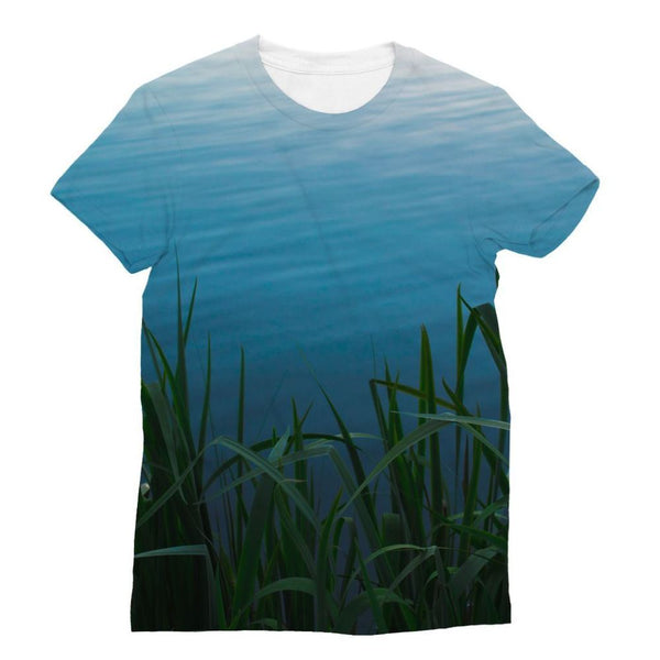 Bushes Near The Water Sublimation T-Shirt Xs Apparel