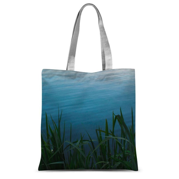 Bushes Near The Water Sublimation Tote Bag 15X16.5 Accessories