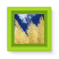 Bushes With Sky Background Magnet Frame Green Homeware