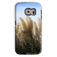 Bushes With Sky Background Phone Case Galaxy S6 Edge / Tough Gloss & Tablet Cases