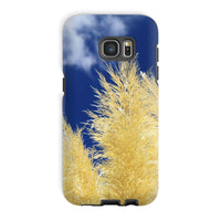 Bushes With Sky Background Phone Case Galaxy S7 Edge / Tough Gloss & Tablet Cases