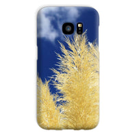 Bushes With Sky Background Phone Case Galaxy S7 / Snap Gloss & Tablet Cases