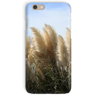 Bushes With Sky Background Phone Case Iphone 6 / Snap Gloss & Tablet Cases