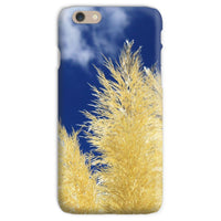Bushes With Sky Background Phone Case Iphone 6S / Snap Gloss & Tablet Cases