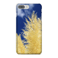 Bushes With Sky Background Phone Case Iphone 8 Plus / Snap Gloss & Tablet Cases