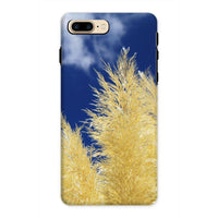 Bushes With Sky Background Phone Case Iphone 8 Plus / Tough Gloss & Tablet Cases