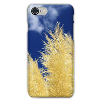 Bushes With Sky Background Phone Case Iphone 8 / Snap Gloss & Tablet Cases