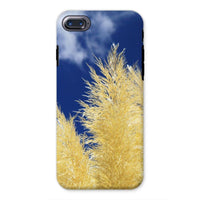 Bushes With Sky Background Phone Case Iphone 8 / Tough Gloss & Tablet Cases