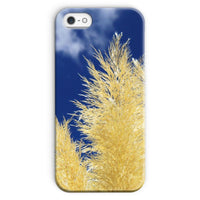 Bushes With Sky Background Phone Case Iphone Se / Snap Gloss & Tablet Cases
