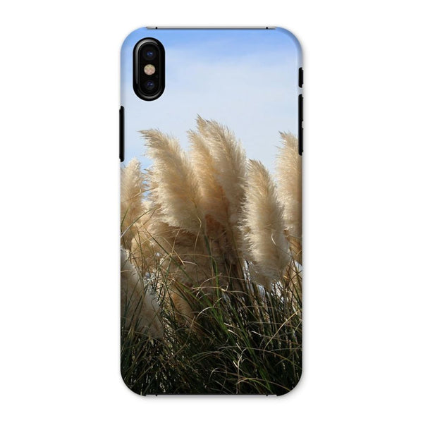 Bushes With Sky Background Phone Case Iphone X / Snap Gloss & Tablet Cases