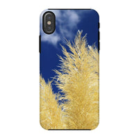 Bushes With Sky Background Phone Case Iphone X / Tough Gloss & Tablet Cases