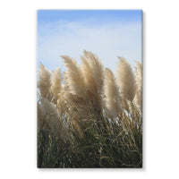 Bushes With Sky Background Stretched Eco-Canvas 24X36 Wall Decor