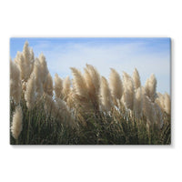 Bushes With Sky Background Stretched Eco-Canvas 30X20 Wall Decor