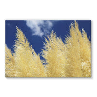 Bushes With Sky Background Stretched Eco-Canvas 36X24 Wall Decor