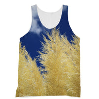 Bushes With Sky Background Sublimation Vest Xs Apparel