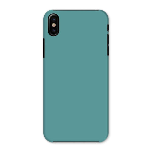 Cadet Blue Color Phone Case Iphone X / Snap Gloss & Tablet Cases