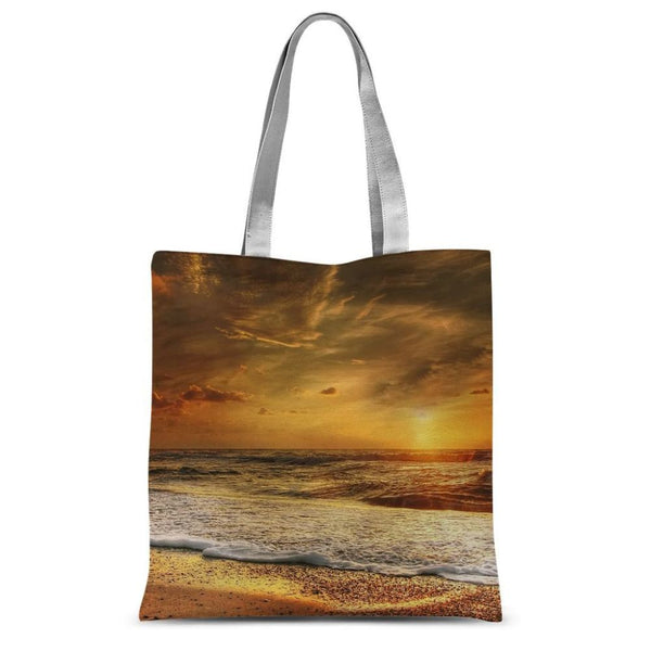 California Summer Beach Sublimation Tote Bag 15X16.5 Accessories