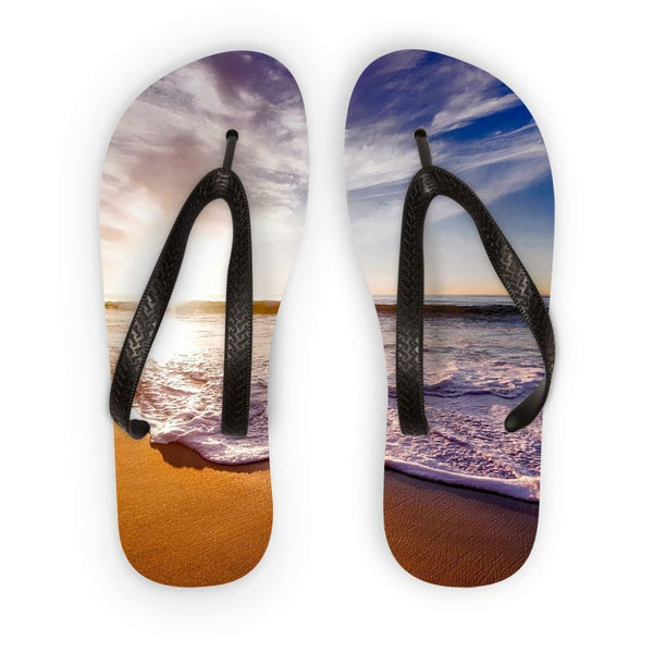 California Usa Sandy Coast Flip Flops S Accessories