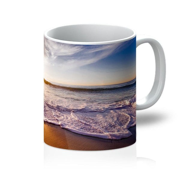 California Usa Sandy Coast Mug 11Oz Homeware