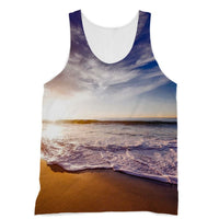 California Usa Sandy Coast Sublimation Vest Xs Apparel