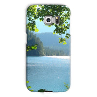 Calm Water Lake In Forests Phone Case Galaxy S6 Edge / Snap Gloss & Tablet Cases