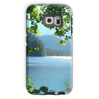 Calm Water Lake In Forests Phone Case Galaxy S6 Edge / Tough Gloss & Tablet Cases