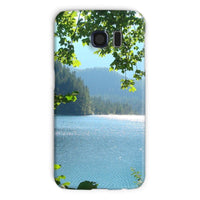 Calm Water Lake In Forests Phone Case Galaxy S6 / Snap Gloss & Tablet Cases
