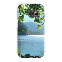 Calm Water Lake In Forests Phone Case Galaxy S7 Edge / Tough Gloss & Tablet Cases