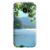 Calm Water Lake In Forests Phone Case Galaxy S7 / Snap Gloss & Tablet Cases