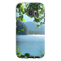 Calm Water Lake In Forests Phone Case Galaxy S7 / Tough Gloss & Tablet Cases