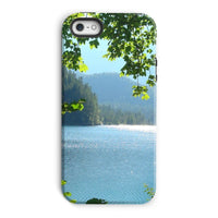 Calm Water Lake In Forests Phone Case Iphone 5/5S / Tough Gloss & Tablet Cases