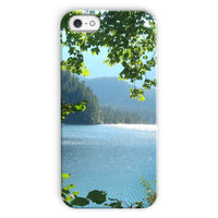 Calm Water Lake In Forests Phone Case Iphone 5C / Snap Gloss & Tablet Cases