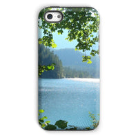 Calm Water Lake In Forests Phone Case Iphone 5C / Tough Gloss & Tablet Cases