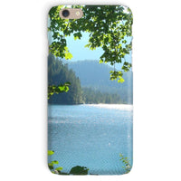 Calm Water Lake In Forests Phone Case Iphone 6 / Snap Gloss & Tablet Cases