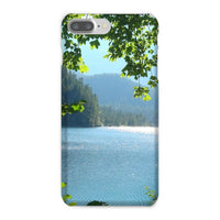 Calm Water Lake In Forests Phone Case Iphone 8 Plus / Snap Gloss & Tablet Cases