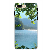 Calm Water Lake In Forests Phone Case Iphone 8 Plus / Tough Gloss & Tablet Cases