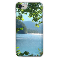 Calm Water Lake In Forests Phone Case Iphone 8 / Snap Gloss & Tablet Cases