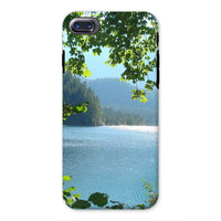 Calm Water Lake In Forests Phone Case Iphone 8 / Tough Gloss & Tablet Cases