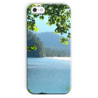 Calm Water Lake In Forests Phone Case Iphone Se / Snap Gloss & Tablet Cases