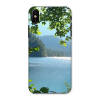 Calm Water Lake In Forests Phone Case Iphone X / Snap Gloss & Tablet Cases