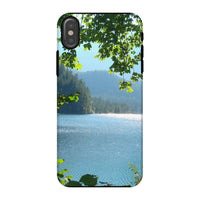 Calm Water Lake In Forests Phone Case Iphone X / Tough Gloss & Tablet Cases