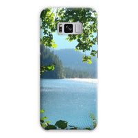 Calm Water Lake In Forests Phone Case Samsung S8 Plus / Snap Gloss & Tablet Cases
