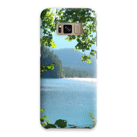 Calm Water Lake In Forests Phone Case Samsung S8 / Snap Gloss & Tablet Cases