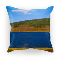 Calm Water Pond Cushion Faux Suede / 12X12 Homeware