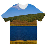 Calm Water Pond Kids Sublimation T-Shirt 3-4 Years Apparel
