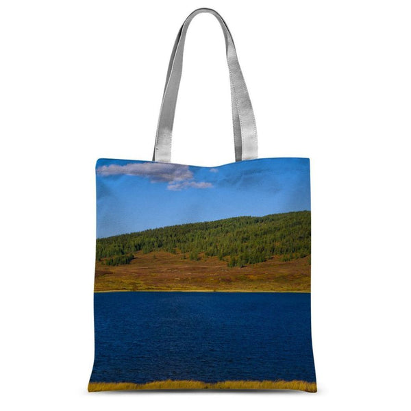 Calm Water Pond Sublimation Tote Bag 15X16.5 Accessories